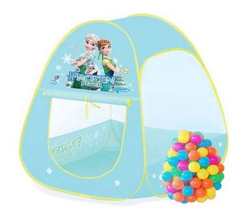 Frozen Fever Kids বল টেন্ট হাউস with 50 Play Balls