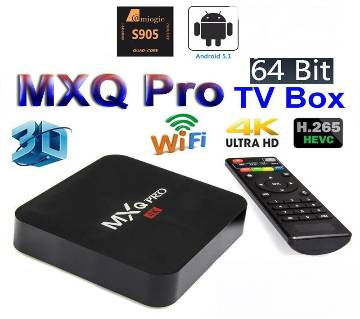 MXQ PRO 4K Android Smart TV Box