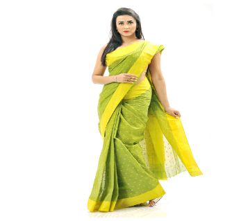Handloom Cotton Saree with Blouse Piece