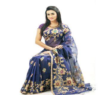 Half Silk Saree with Blouse Piece
