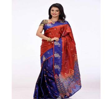 Silk Sharee With Blouse  Piece