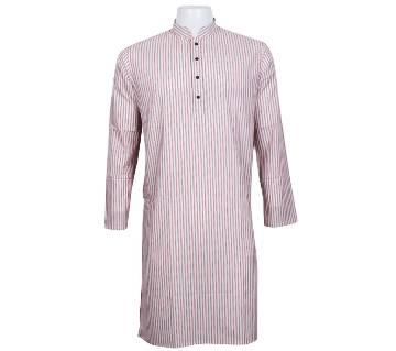 Menz Semi Long Cotton Regular Fit Panjabi