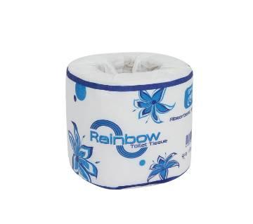 Rainbow Toilet Tissue-White-12 Pack