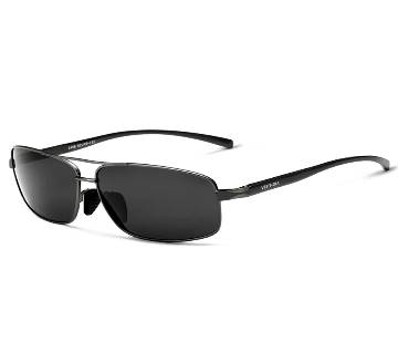 Polarized Gents Metal Framed Sunglasses