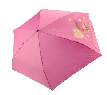 Doll Style Anti-UV Rainproof Folding Bottle Umbrella