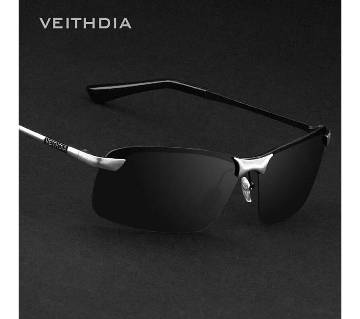 VEITHDIA Brand Designer Polarized Mens Rimless Sun Glasses with original box kit