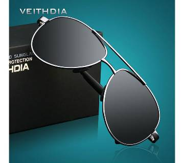 VEITHDIA Brand Designer Mens Polarized Sunglasses with original box