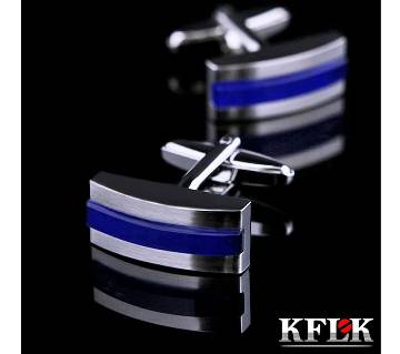 KFLK Brand High Quality Shirt cufflink for men