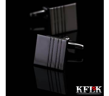KFLK Brand Square Shape High Quality Shirt Cufflink for Men