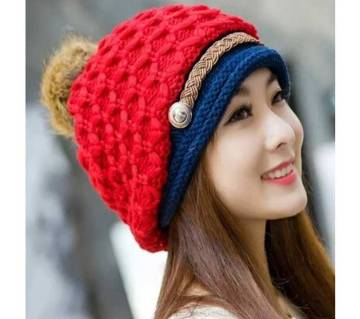 Woman Warm Woolen Winter Hats
