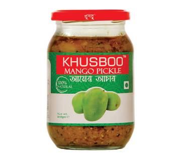 KHUSBOO Premium Mango Pickle 400 gm - BD