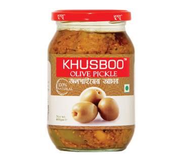 KHUSBOO Premium Olive Pickle 400 gm BD