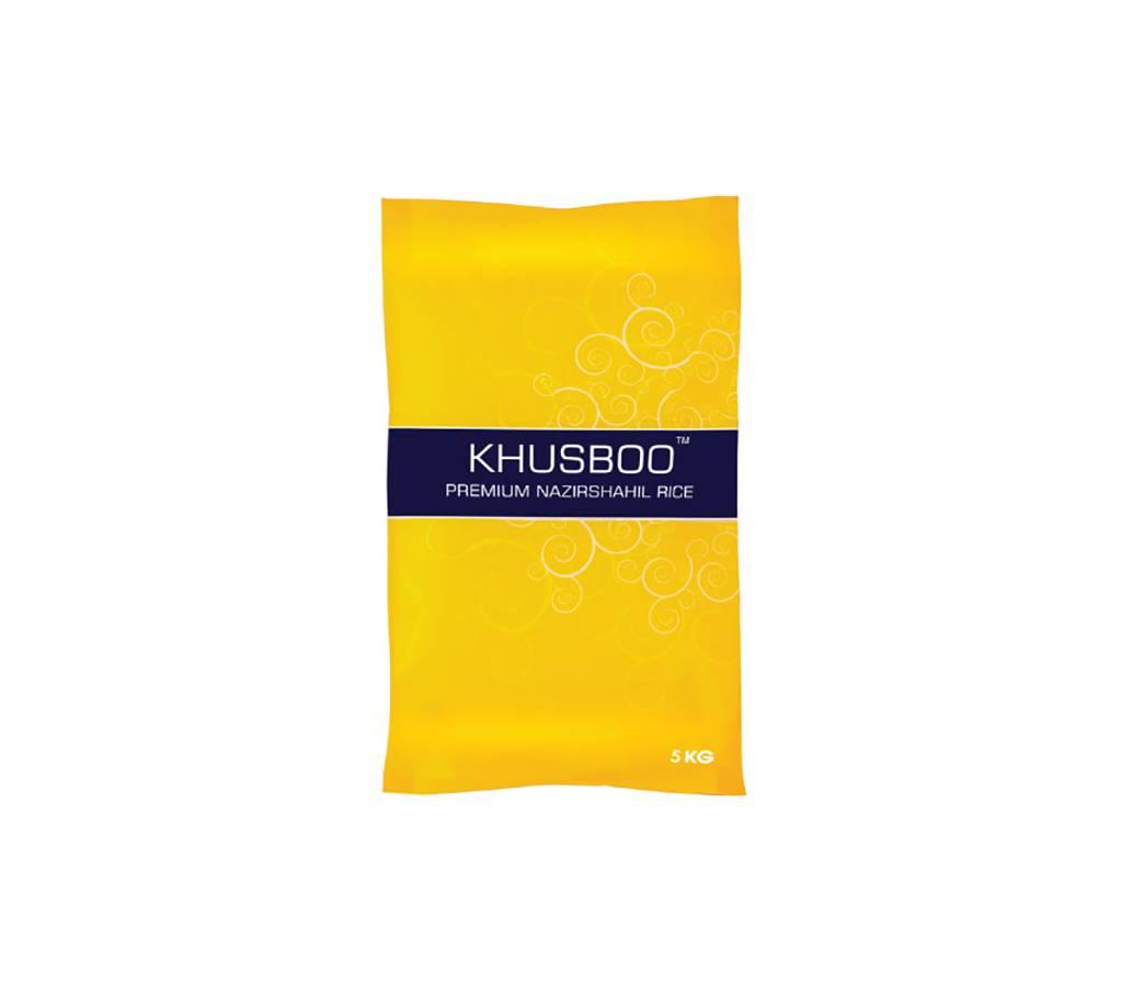 Khusboo প্রিমিয়াম নাজিরশাহ চাল, 5 kg বাংলাদেশ - 862030