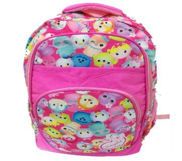PU Leather School Bag For Kids