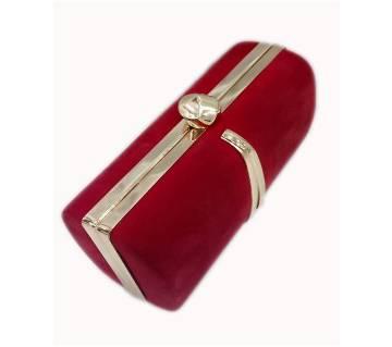 Wedding party woman cheap Promotional Metal hollow women hand purse