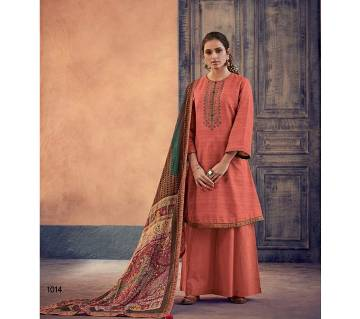 Varsha Ehrum Unstitched Embroidery Three Piece