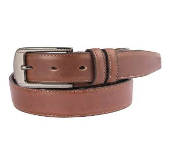 Brown Shades Leather Formal Belt  for Men