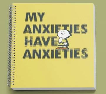 Anxieties নোটবুক