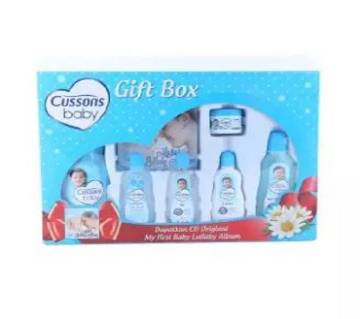 Blue Gift Box for Baby - 7 Pieces