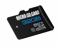 32GB micro hd মেমোরি কার্ড