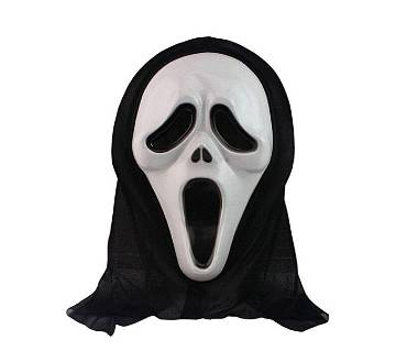 Ghost Hacker মাস্ক -Black and White