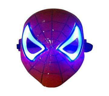 LED Spider Man মাস্ক - Red