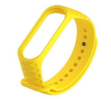 Mi Band 3 Replacement Colorful Silicone Strap Yellow