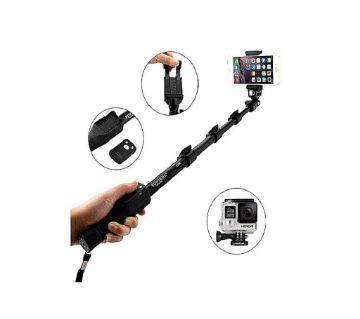 YT-1288 Monopod Selfie Stick - Black