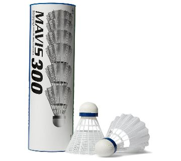 Mavis 300 Shuttlecocks (6 Pcs)