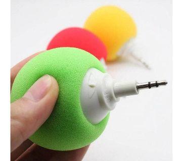 Mini portable speaker balloon