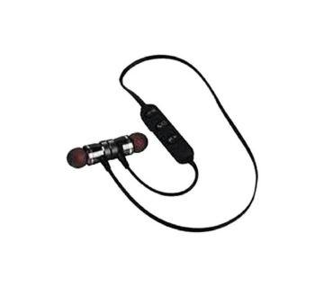 Super Bass Wireless Bluetooth Earphone - Black