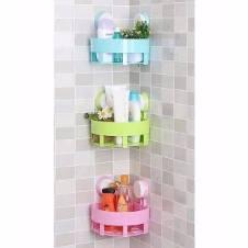 Triangle shelf for bathroom