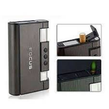 Focas Cigarete Case with Lighter