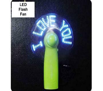 Flexible LED Flash Fan