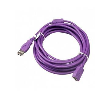 USB Extension Cable 3m Male to Female - Purple