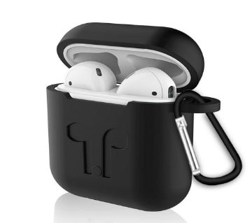 Soft silicone case protective cover for AirPods