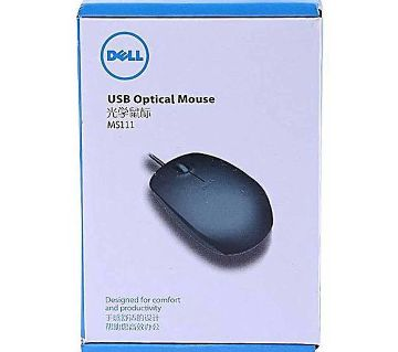 Dell Wired Mouse Ms111 - Black.