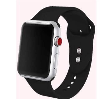 Apple Shaped Smart Wrist Watch - কপি