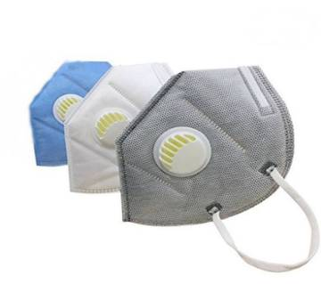 Safety Masks Mouth Anti Pollution- 3 Pcs