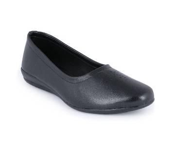 Leather Pumps Shoe for Women - Blue