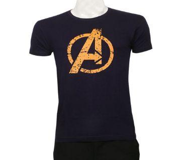 Avengers মেনজ হাফ স্লিভ কটন টি-শার্ট