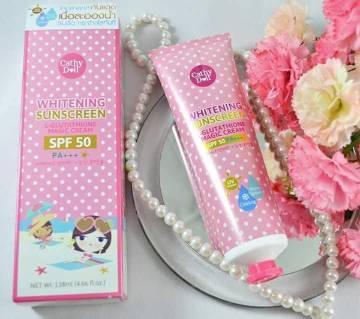 Cathy Doll Whitening Sunscreen SPF 50 - Korea