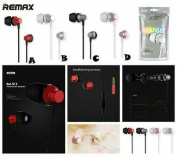 REMAX RM 512 original earphone