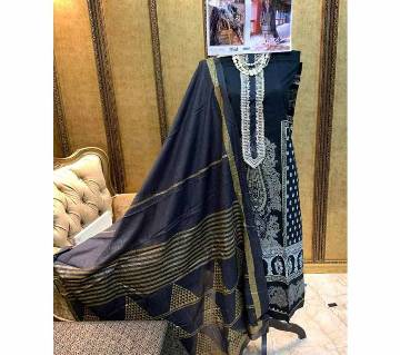 Unstitched Shree Fabs SRM Imported SANA SAFINAZ Exclusive Collection (5124)