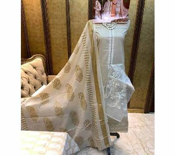 Unstitched Shree Fabs SRM Imported SANA SAFINAZ Exclusive Collection (5126)