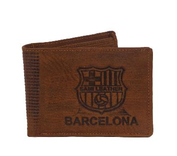 BARCELONA LEATHER WALLET MONEY PURSE CARD HOLDER FOR MEN