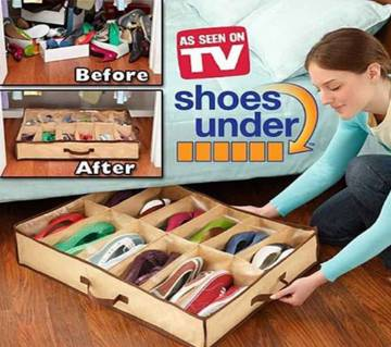 Shoes Under Space Shoe Organizer