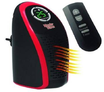 Portable Room Heater With Remote