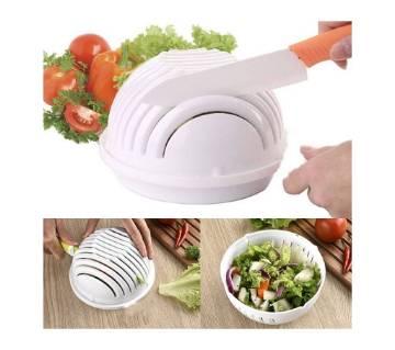 Salad Cutting Bowl