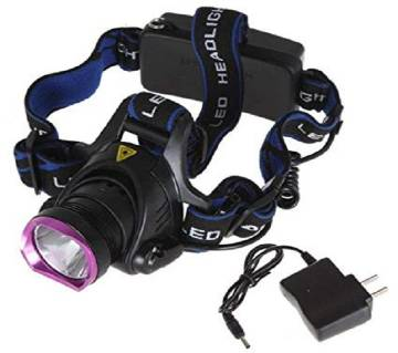 High power headlamp with adapter